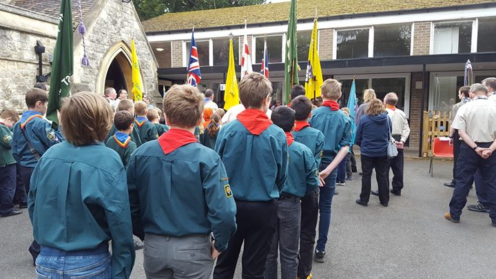 St George's Day is when Scouts across the world renew their promise. Our group is no different, as we attended All Saints Kenley for a service with several other local groups. Thanks to our Beavers, Cubs, Scouts and leaders who attended, particularly the flag bearers and readers.