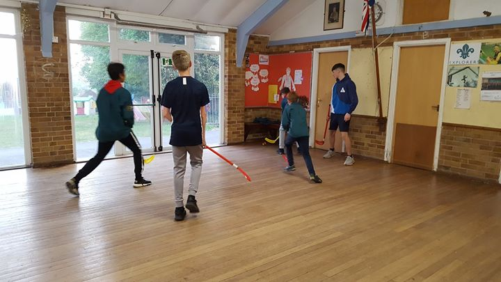 Scouts 3rd June - A favourite indoor activity of ours is uni hoc, so thats what dominated the programme this week!